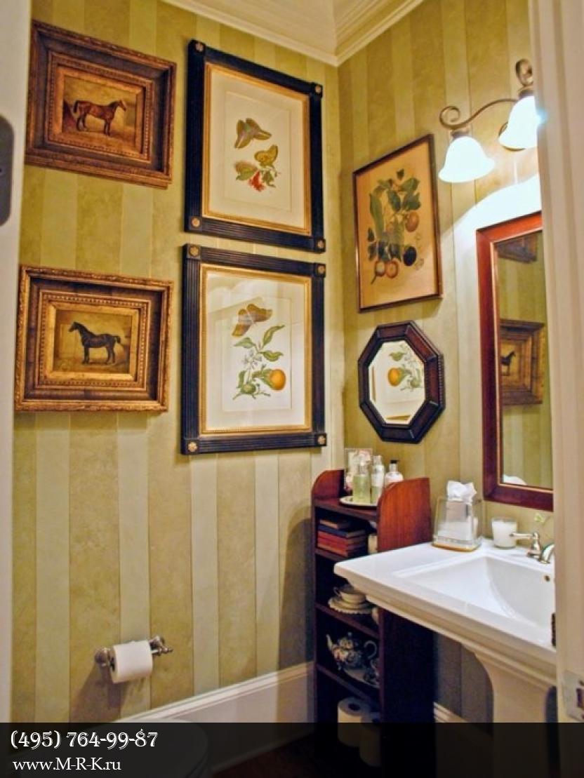 Деревянная отделка ванных комнат.
