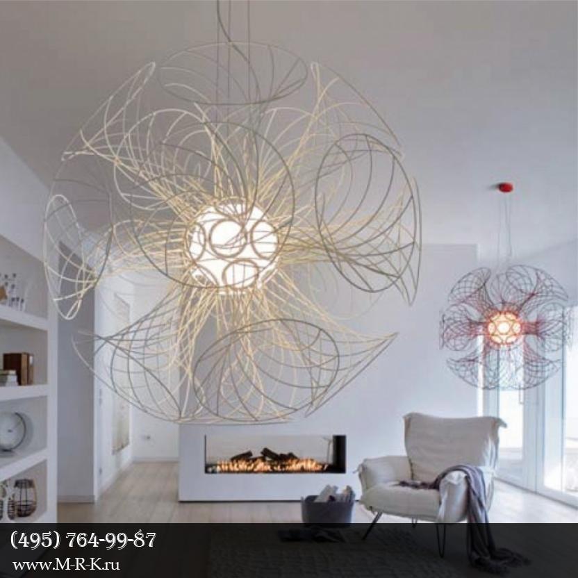 Дизайнеры разработали самый необычный светильник в мире.