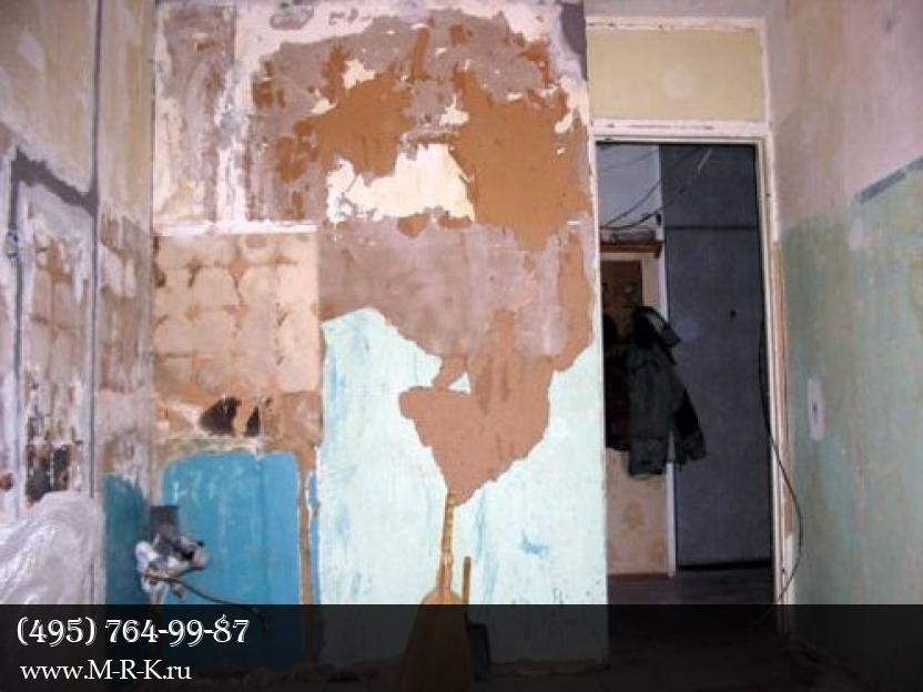 Этапы ремонта квартиры.