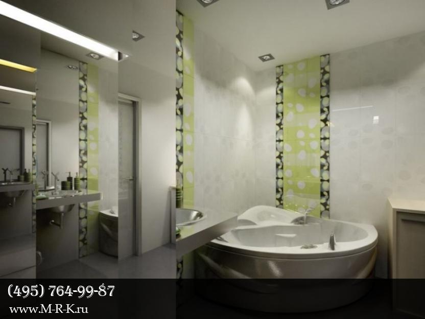 Интерьер ванны.