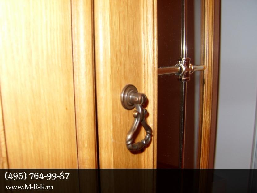 Установка дверных ручек на межкомнатные двери.