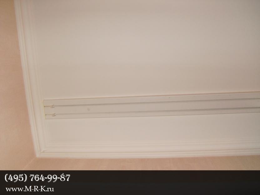 Установка карниза, крепление к стене, монтаж жалюзи на окно, потолок.