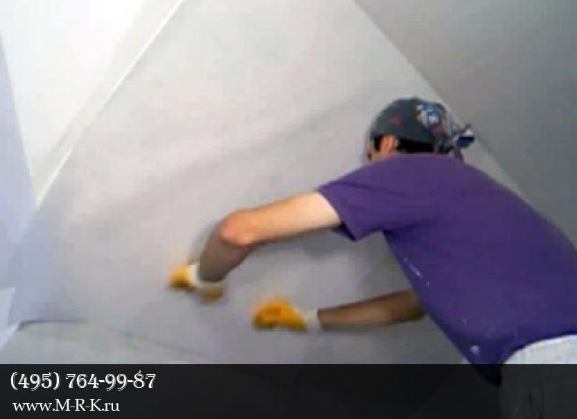 Боремся с трещинами на потолке