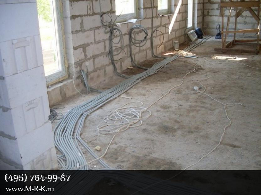 Электрические работы в квартире, на даче и в доме.