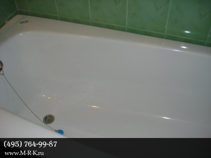 Эмалировка ванны.