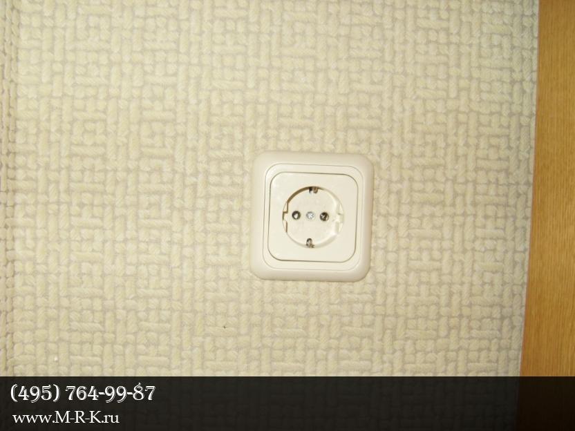установка розеток, замена и ремонт выключателей