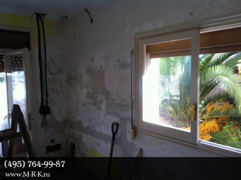 Оформление стен при ремонте квартиры.