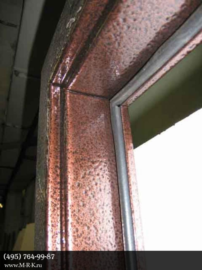 Покраска окон и дверей
