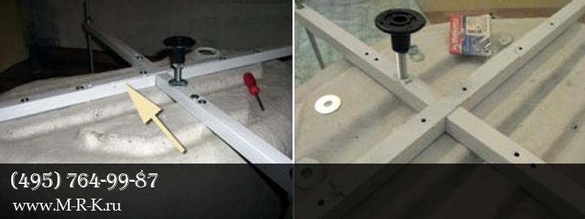 Сборка и монтаж душевого поддона, установка дешевых кабин.
