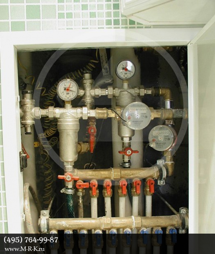 Установка фильтров для очистки воды аквафор, гейзер, atoll, аква.