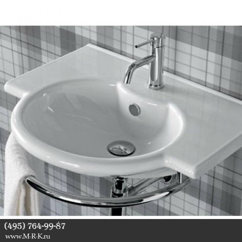 Установка раковины в ванной, на кухне.