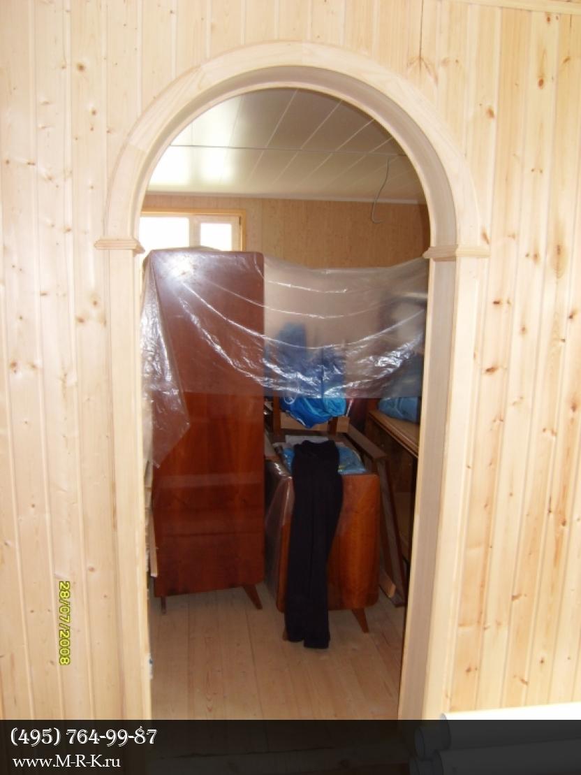 Установить межкомнатную арку в квартире