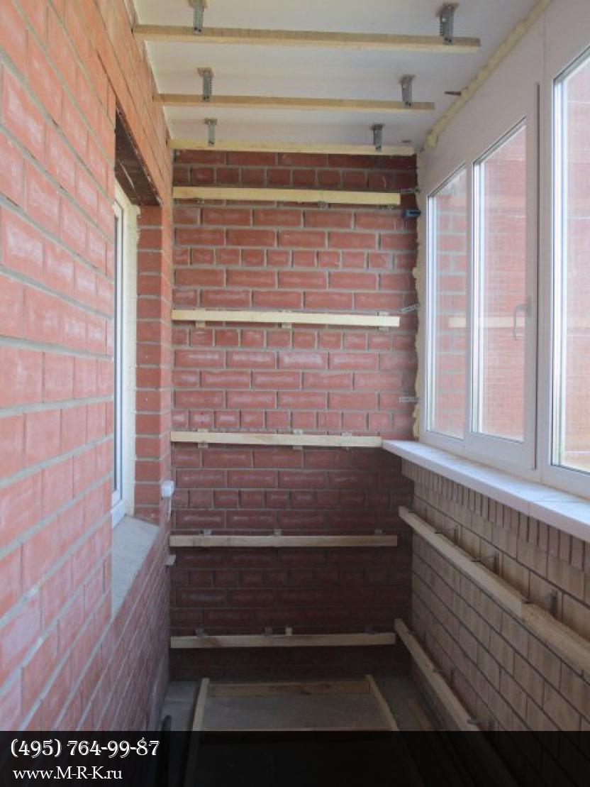 Утепление балконов и лоджий.