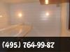 Установка реечного потолка в ванной, монтаж на кухне. фото