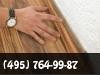 Монтаж плинтуса пластикового, деревянного, галтель фото