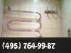 Установка полотенцесушителя, перенос. фото