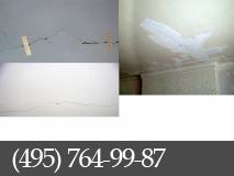 Боремся с трещинами на потолке фото