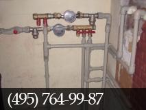 Прокладка труб водоснабжения фото