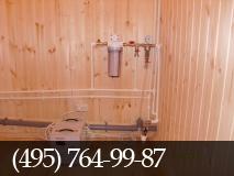 Установка фильтров для очистки воды аквафор, гейзер, atoll, аква. фото